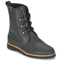 Sapatos Mulher Botas baixas Lacoste BAYLEN 4 Preto