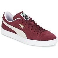 Sapatos Sapatilhas Puma SUEDE CLASSIC Vermelho / Branco