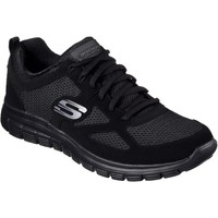 Sapatos Homem Sapatilhas Skechers Burns Preto