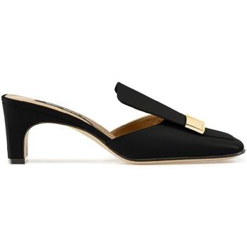 Sapatos Mulher chinelos Sergio Rossi A78000MNAN07110_1000 nero