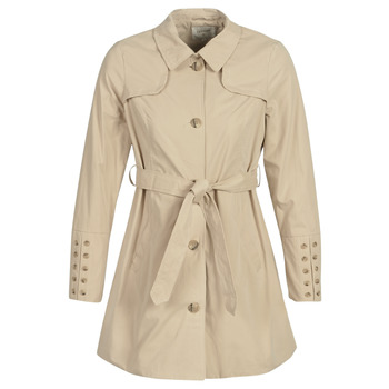 Textil Mulher Trench Cream ANNABELL Bege