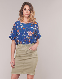 Textil Mulher Tops / Blusas Cream ALLY Azul