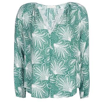 Textil Mulher Tops / Blusas See U Soon GARAGAVE Verde / Branco