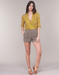 Textil Mulher Macacões/ Jardineiras See U Soon GARAGALE Amarelo / Cáqui