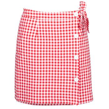 Textil Mulher Saias Betty London KRAKAV Vermelho / Branco