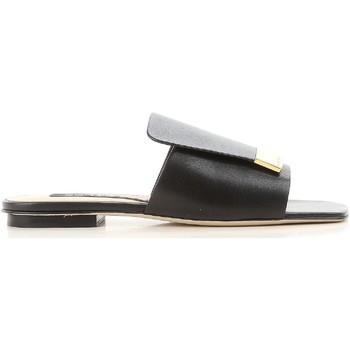 Sapatos Mulher chinelos Sergio Rossi A80380 MNAN07 1000 nero