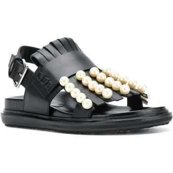 Sapatos Mulher Sandálias Marni FBMSY13G01LV734 nero