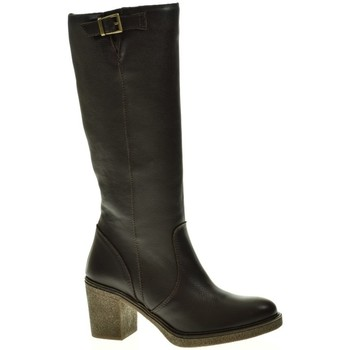 Sapatos Mulher Botas Linea Purpura 80536 castanho