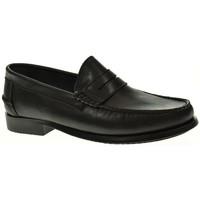 Sapatos Homem Mocassins Linea Purpura 93000 Negro