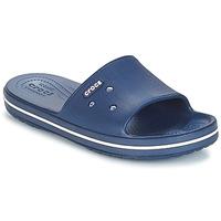 Sapatos chinelos Crocs CROCBAND III SLIDE Marinho / Branco