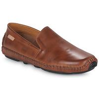 Sapatos Homem Mocassins Pikolinos JEREZ 09Z Castanho