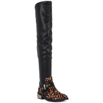 Sapatos Mulher Botas altas Elvio Zanon PONY NAPPA Nero