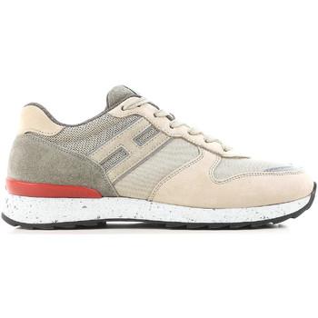 Sapatos Homem Sapatilhas Hogan HXM2610R676IHY0PD5 beige