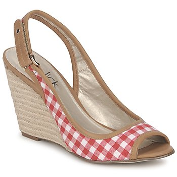 Sapatos Mulher Sandálias StylistClick INES Jude / Natural / Vermelho