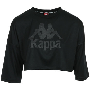 Textil Mulher Tops / Blusas Kappa Authentic Anak Preto