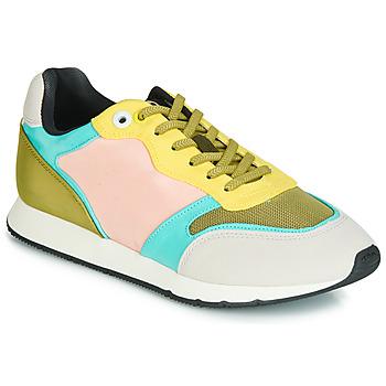 Sapatos Mulher Sapatilhas MTNG HANNA Rosa / Amarelo / Turquesa
