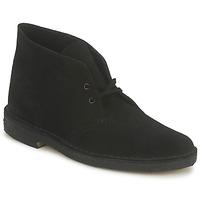 Sapatos Homem Botas baixas Clarks DESERT BOOT Preto