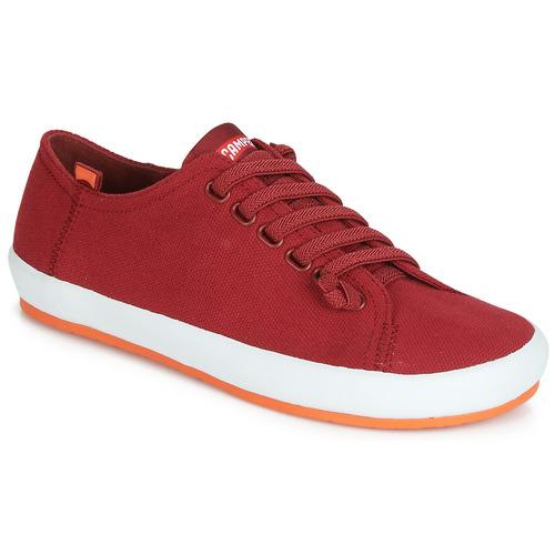 Sapatos Mulher Sapatos Camper PEU RAMBLA VULCANIZADO Vermelho