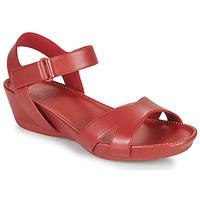 Sapatos Mulher Sandálias Camper Micro Vermelho