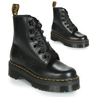 Sapatos Mulher Botas baixas Dr Martens Molly Preto