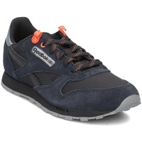 Sapatos Criança Sapatilhas Reebok Sport Classic Leather Preto