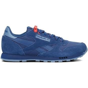 Sapatos Criança Sapatilhas Reebok Sport Classic Leather Azul