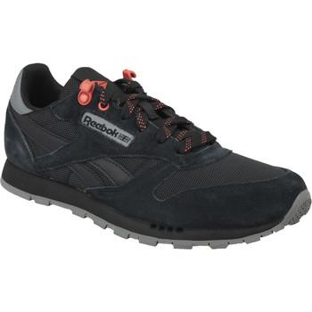 Sapatos Criança Sapatilhas Reebok Sport Classic Leather Noir