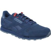Sapatos Rapaz Sapatilhas Reebok Sport Classic Leather Bleu