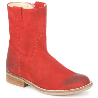 Sapatos Rapariga Botas baixas Hip DIRAN Vermelho