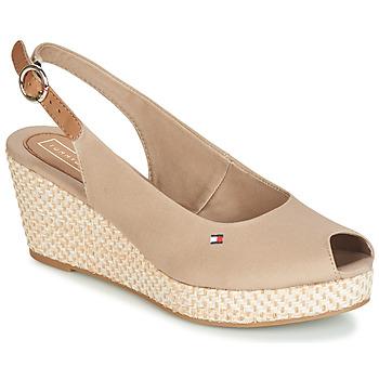 Sapatos Mulher Sandálias Tommy Hilfiger ELBA 39D2 Bege