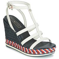 Sapatos Mulher Sandálias Tommy Hilfiger VANCOUVER 7A Branco