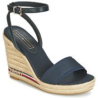 Sapatos Mulher Sandálias Tommy Hilfiger ELENA 78C1 Marinho