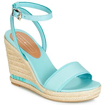 Sapatos Mulher Sandálias Tommy Hilfiger ELENA 78C Azul / Céu