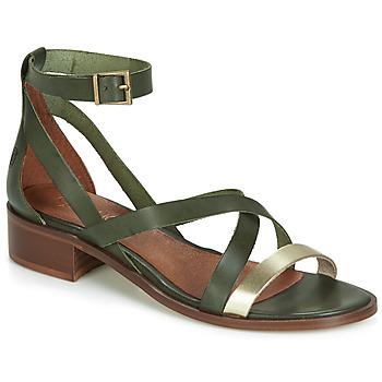 Sapatos Mulher Sandálias Casual Attitude COUTIL Verde