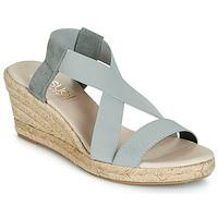 Sapatos Mulher Sandálias Casual Attitude JALAYEBE Cinza