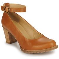 Sapatos Mulher Escarpim Casual Attitude JALAYELE Camel