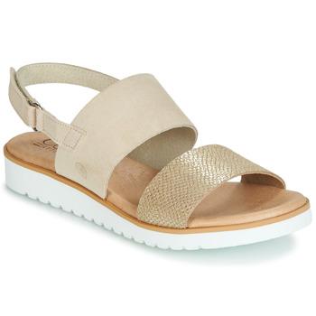 Sapatos Mulher Sandálias Casual Attitude JALAYEPE Bege / Íris