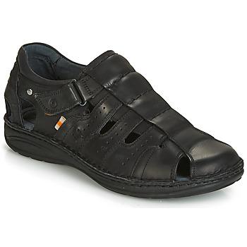 Sapatos Homem Sandálias Casual Attitude JALAYIME Preto