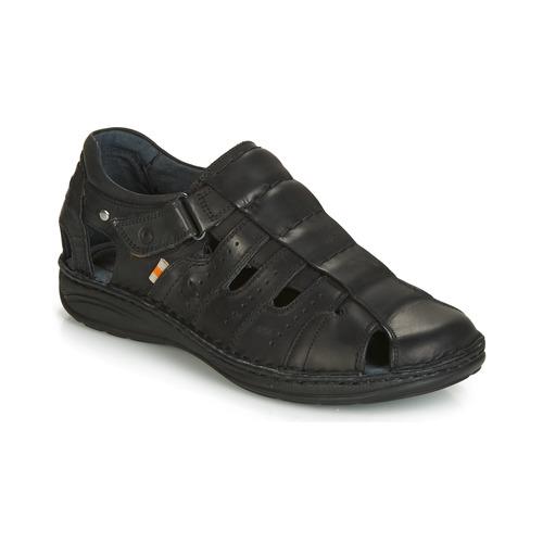 Sapatos Homem Sandálias Casual Attitude ZIRONDEL Preto