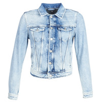 Textil Mulher casacos de ganga Pepe jeans CORE Azul / Claro