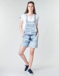 Textil Mulher Macacões/ Jardineiras Pepe jeans ABBY Azul