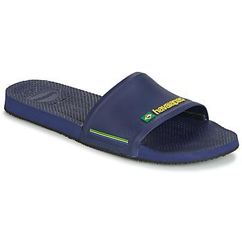 Sapatos Homem chinelos Havaianas SLIDE BRASIL Navy