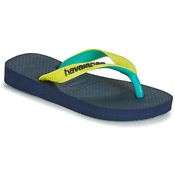 Sapatos Chinelos Havaianas TOP MIX Amarelo / Navy