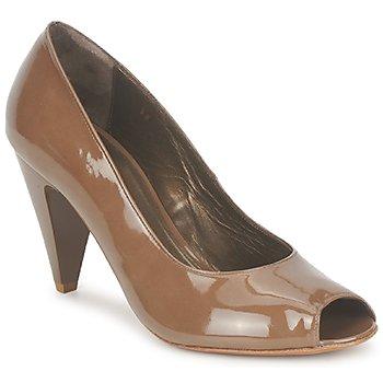 Sapatos Mulher Escarpim Espace LEON Castanho