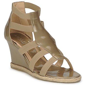 Sapatos Mulher Sandálias Amalfi by Rangoni LEMA Verniz / Toupeira