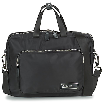 Malas Homem Porta-documentos / Pasta Calvin Klein Jeans PRIMARY 1 GUSSET LAPTOP BAG Preto