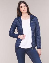 Textil Mulher Quispos Emporio Armani EA7 TRAIN CORE LADY LT DOWN JACKET Marinho
