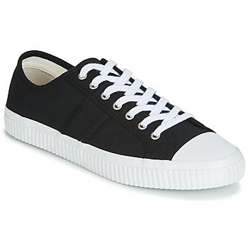Sapatos Homem Sapatilhas Jim Rickey TROPHY Preto / Branco