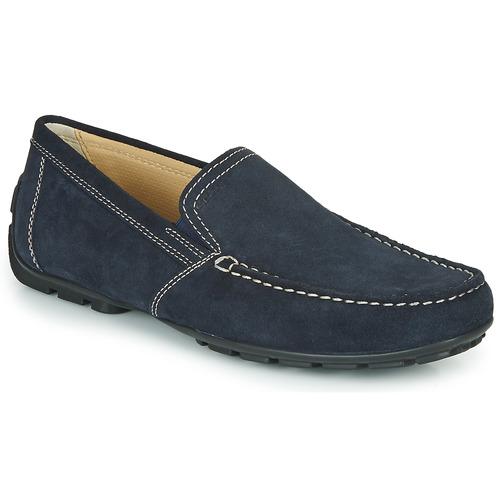 Sapatos Homem Mocassins Geox MONET Azul
