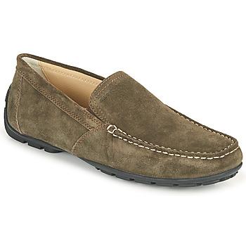 Sapatos Homem Mocassins Geox MONET Café